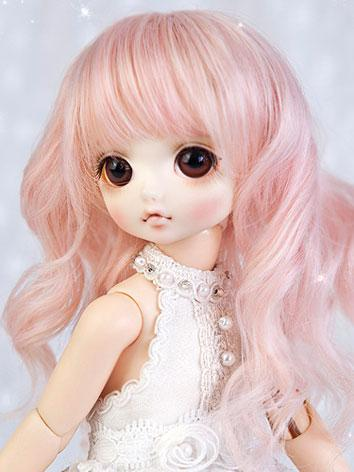 【Limited Edition】BJD Wig 1/6 Pink Long Curl Hair Wig WG62034 for YO-SD Size Ball-jointed Doll