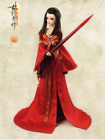 【Limited Edition】Bjd Clothes Girl Ancient Clothes/Hongyu CL3120911 for SD Ball-jointed Doll