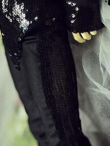 BJD Clothes Boy Black Pants...