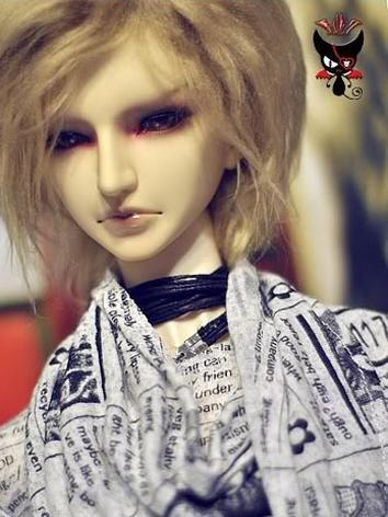 BJD Clothes Boy Printed T-s...