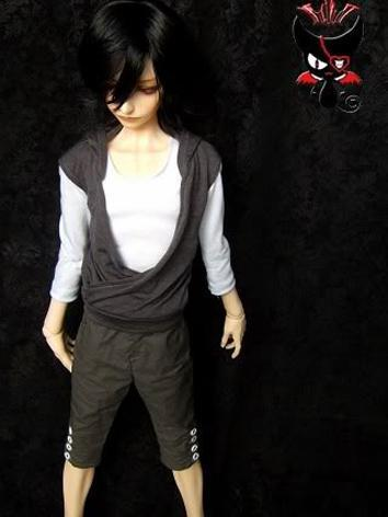 BJD Clothes Boy T-shirt Gla...