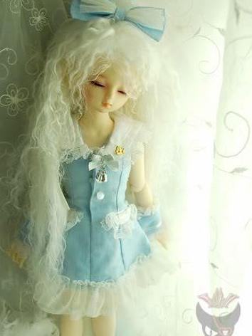 BJD Clothes Girl Blue Lolit...