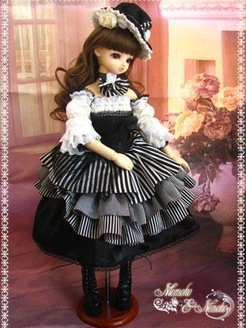 BJD Clothes Princess Black&...