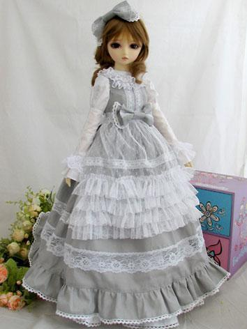 BJD Clothes Girl Elegant Re...