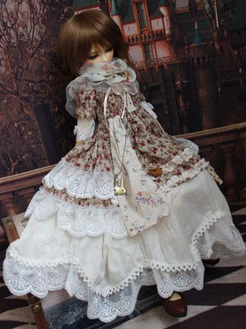 BJD Clothes Sweet Girl Dres...