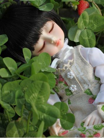 BJD Sleeping Strawberry 27c...