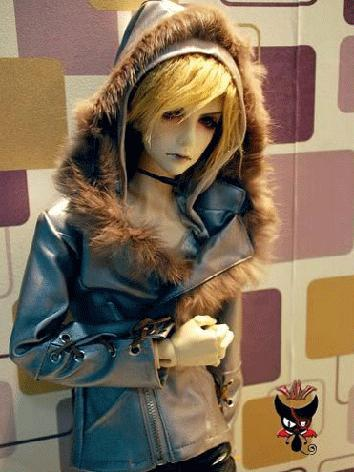 BJD Clothes Boy Leather Jac...