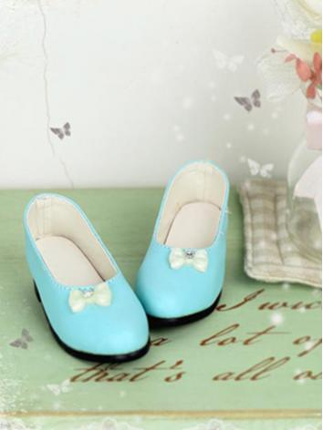 BJD Shoes 1/3 Blue Girl Shoes for SD Ball-jointed Doll