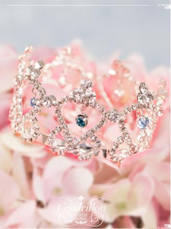 BJD 1/3 youth crystal crown...