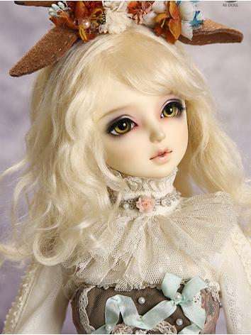 【Limited Edition】BJD Girl 1/3 Mohair changeable curl hair WG315041 for SD Size Ball-jointed Doll