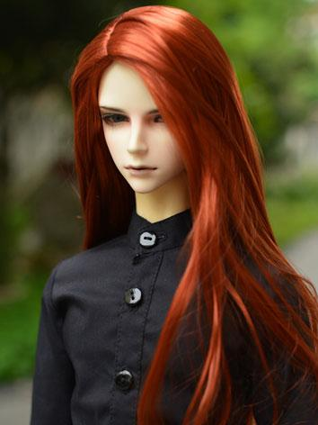bjd boy/girl wigs straight long hair for sd size ball