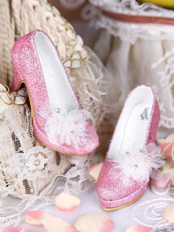 Bjd Shoes 1/3 Dreaming Pink shoes SH315036 for SD Size Ball-jointed Doll