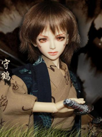 BJD 1/4 Shukaku 46cm Boy Ball-jointed doll
