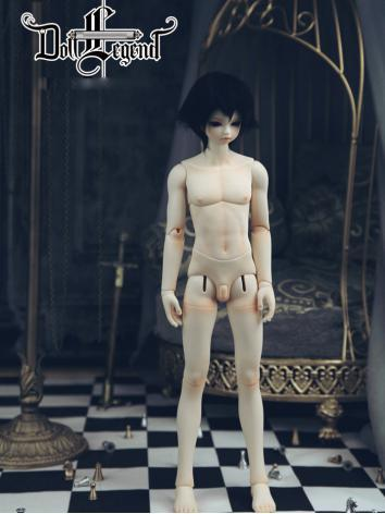 BJD Doll Body 44cm Boy Musc...