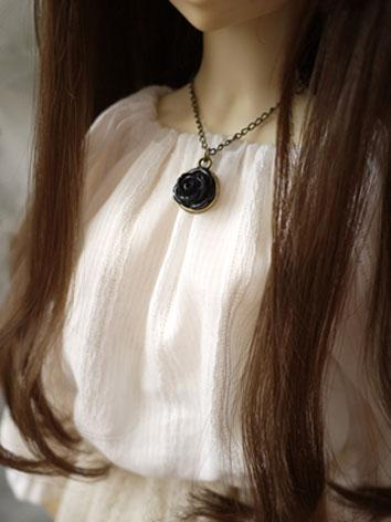 BJD Necklace[Black Rose]for SD Ball-jointed doll