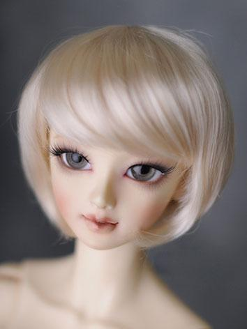 BJD Boy/Girl Wigs Gold Shor...