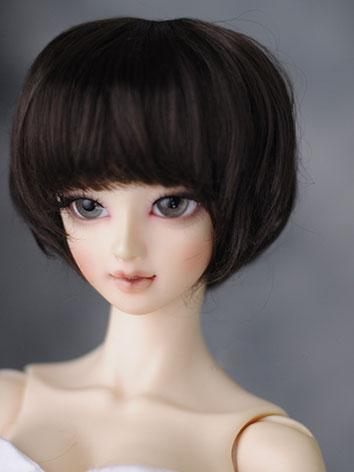 BJD Boy/Girl Wigs Dark Brow...