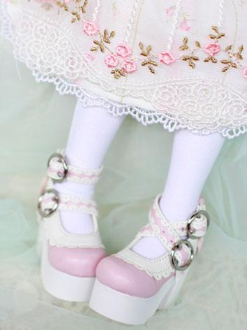 Bjd Shoes HIgh-heel Lolita Shoes for MSD Size Ball-jointed Doll
