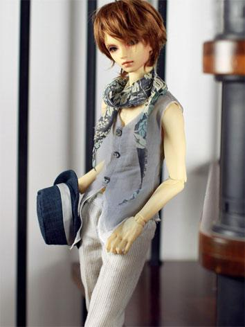 BJD Clothes Boy Waistcoat Suit for SD17 Ball-jointed Doll