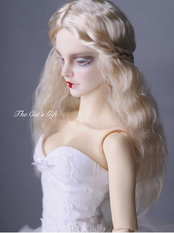 BJD Girl GOLD Hair for SD S...
