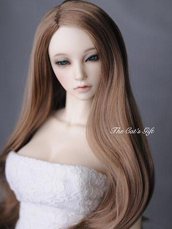 BJD Girl/Boy Gold Long hair...
