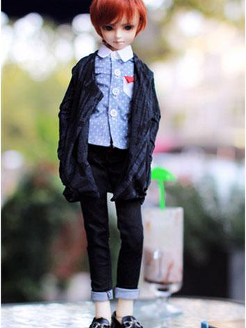 BJD Clothes Boy British Style Suit for MSD Ball-jointed Doll