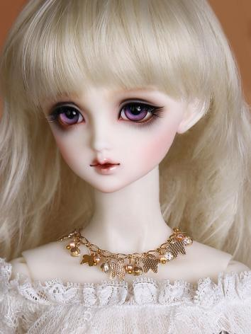 BJD Butterfly flowers necklace JE315046 for SD Ball-jointed doll
