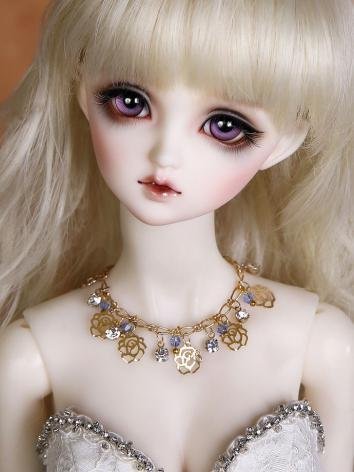 BJD Butterfly flowers necklace JE315047 for SD Ball-jointed doll