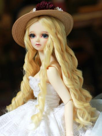 BJD Girl Princess Curly Hair Wig for SD Size Ball-jointed Doll