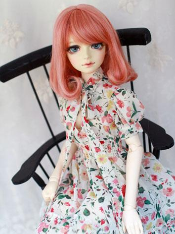 BJD Girl Pink Shoulder-leng...