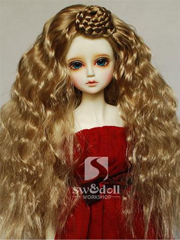 BJD Wig Long Curly Wig JW06...