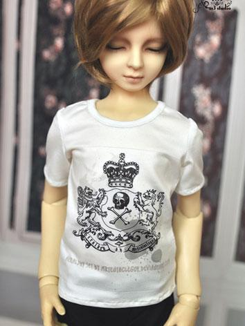 BJD Clothes White T-shirt for 70cm/SD Ball-jointed Doll
