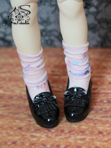 BJD Cute Girl White/Black/Brown Shoes for MSD/SD Ball-jointed doll