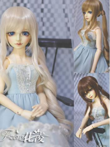 BJD Girl Wig for SD Size Ba...
