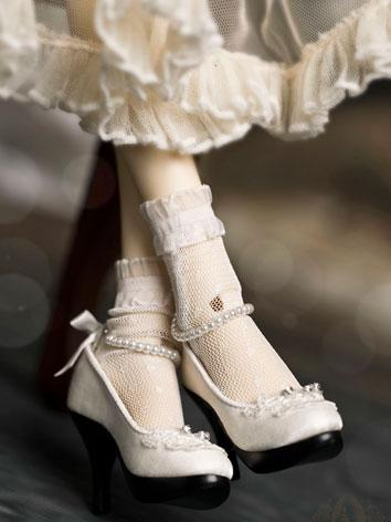 【Limited Edition】Bjd Shoes 1/3 Snow White high heel shoes SH31035 for SD Size Ball-jointed Doll
