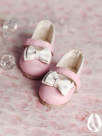【Limited Edition】Bjd Shoes 1/6 sweet dancy shoes(Pink) SH613127 for YO-SD Size Ball-jointed Doll
