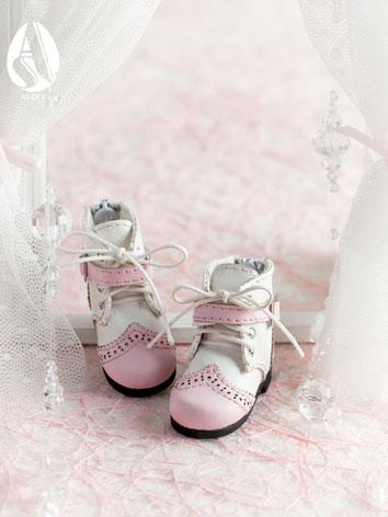 【Limited Edition】Bjd Shoes 1/6 british shoes(pink) SH613129 for YO-SD Size Ball-jointed Doll