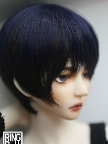 BJD Wig Boy Short Hair SD S...