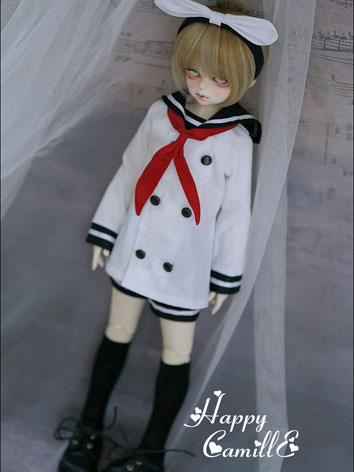 BJD Clothes Boy Sailer Suit...