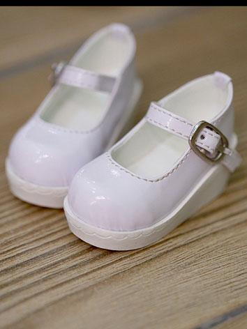 Bjd Girl Basic White Shoes ...
