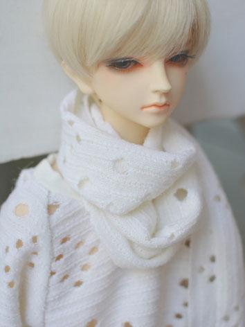 BJD Decoration White Scarf ...