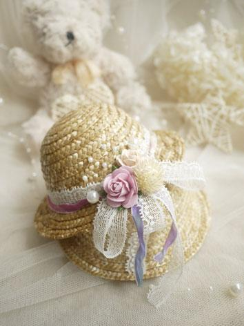 BJD Sunbonnet Pure Hat for SD Ball-jointed doll