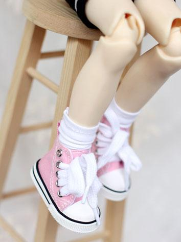 Bjd Shoes Girl Pink/Purple/...