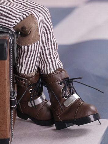 Bjd Shoes 1/6 ancient brown boots SH615071 for YO-SD Size Ball-jointed Doll