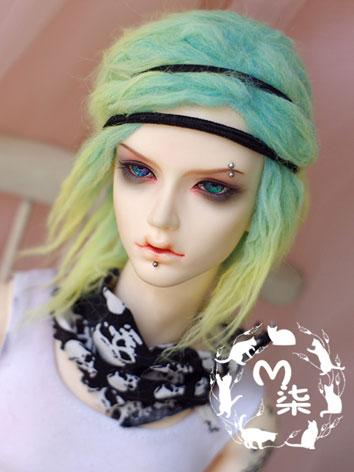 BJD Wool Wig Green Wig for ...