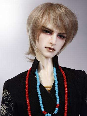 BJD Boy Gold Short Wig Situ...
