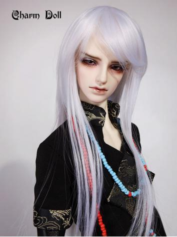 BJD Boy Gray Wig WG3-0025 f...