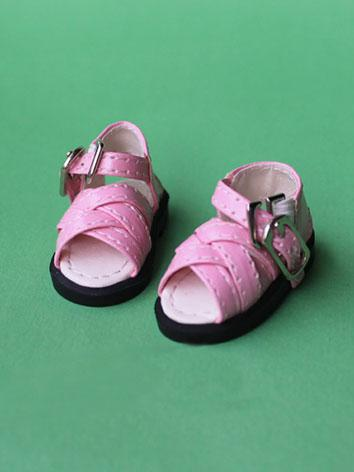 Bjd Shoes Pink/Yellow/White/Black Shoes for YSD/MSD/SD Size Ball-jointed Doll