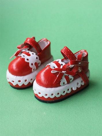 Bjd Shoes White/Red/Pink/Bl...