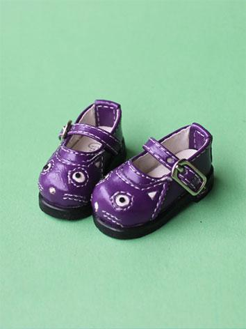 Bjd Shoes Black/White/Purple/Black Shoes 4702 for YSD/MSD/SD Size Ball-jointed Doll